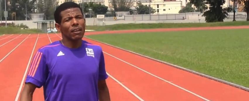 Haile Gebrselassie (12:39 5000m, 26:22 10000m) - Training